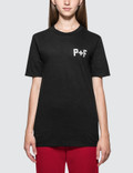 Places + Faces P+F Logo Reflective Short Sleeve T-shirt Picutre