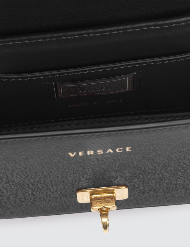 Versace Chain Icon Leather Crossboday Bag