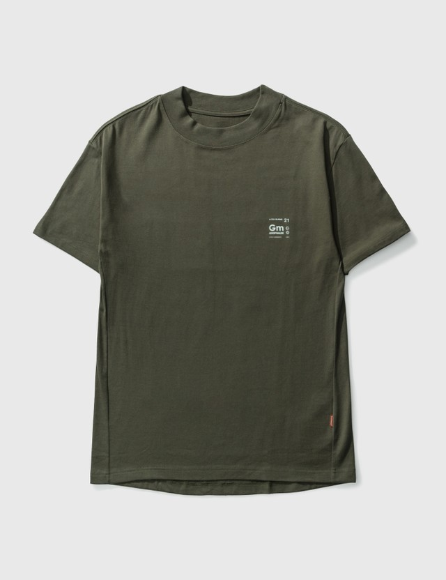 "GOOPiMADE ""ASC-03"" Cytokine Patch T-shirt Taupe Men"