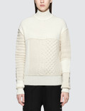 McQ Alexander McQueen Clable Mix Cropped Jumper Picture