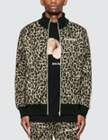 Palm Angels Leopard Track Jacket Picture