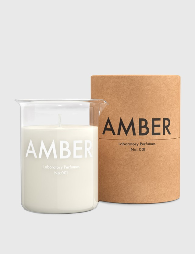 Laboratory Perfumes Amber Scented Candle White Unisex