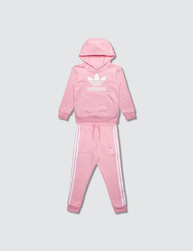 Adidas Originals Trefoil Hoodie and Pants Set