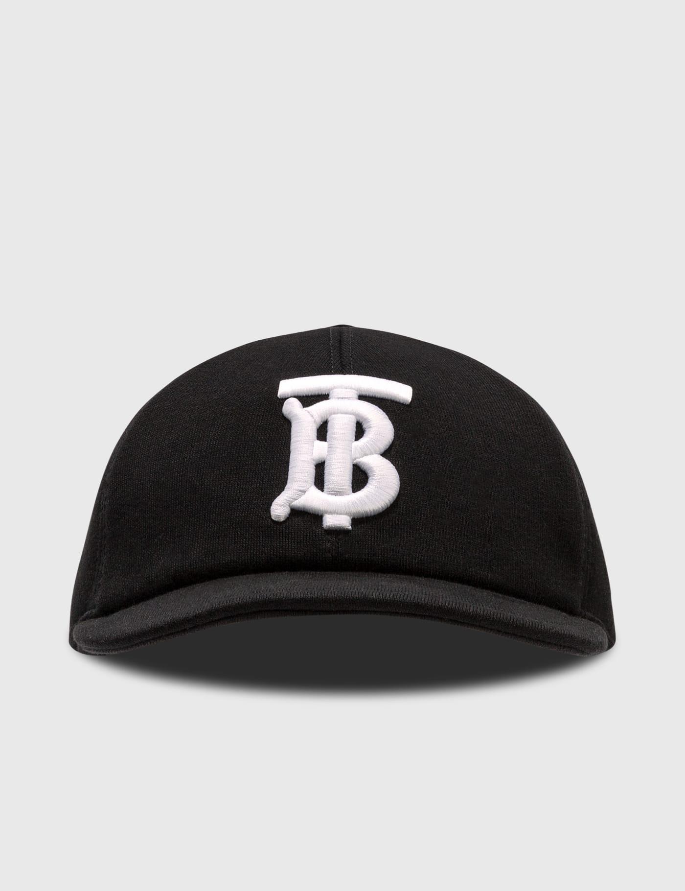 버버리 Burberry Monogram Motif Cotton Jersey Baseball Cap
