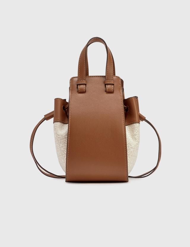 Loewe Mini Hammock Bag Ecru/tan Women