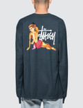 Stussy Pin Up L/S T-Shirt Picture