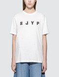 SJYP Logo Painted S/S T-Shirt Picture