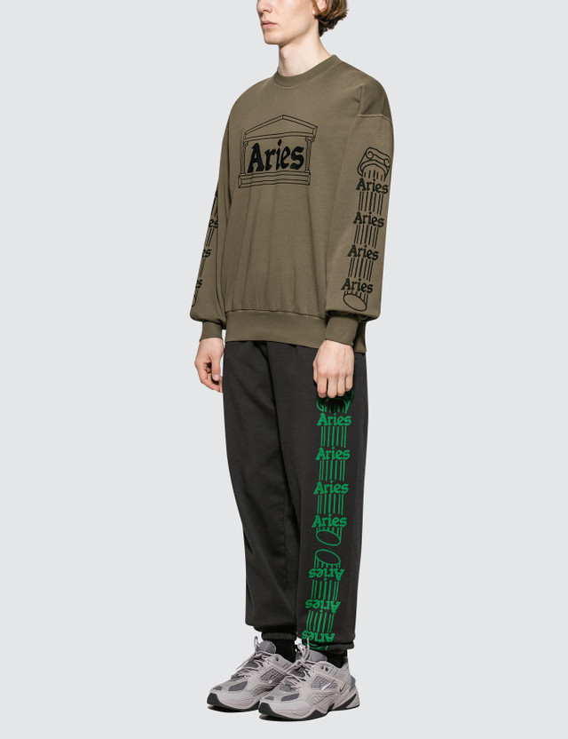 Aries Column Sweatshirt