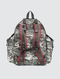 White Mountaineering White Mountaineering x Eastpak Wave Printed Multi Pocket Backpack