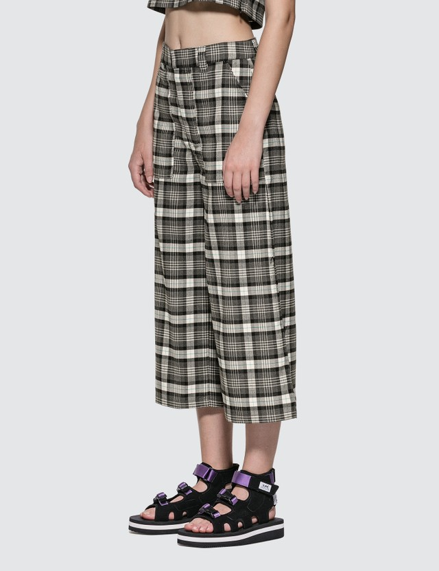 X-Girl Plaid Pants Black Women