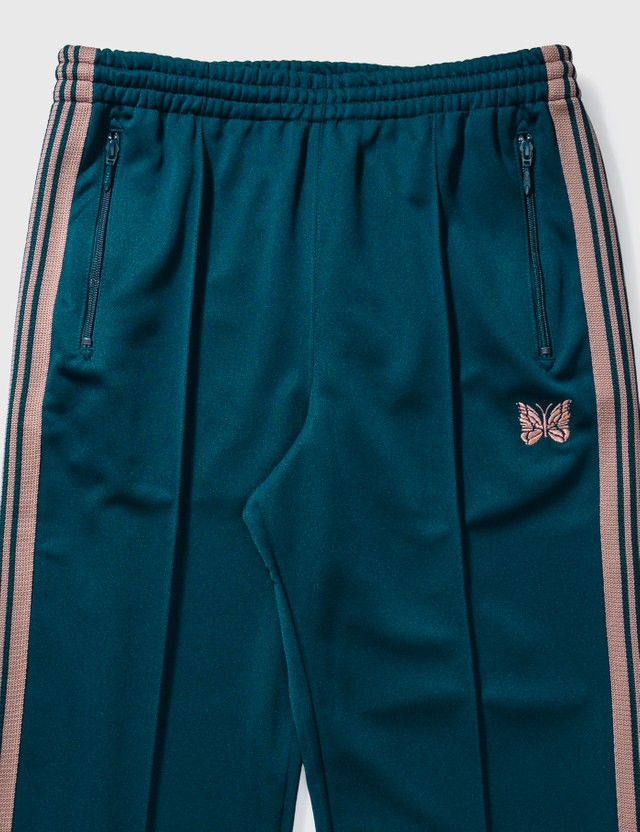 Needles Poly Smooth Track Pant Teel Green Men