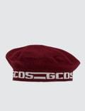 GCDS Logo French Beret Picutre