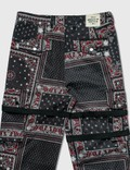 Rogic Paisley Cargo Pants Blk / Red Men