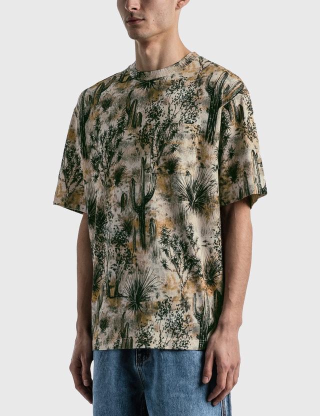 Acne Studios Extorr Pocket Desert T-shirt Beige Men