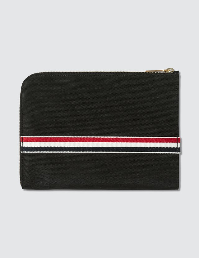 Thom Browne Unlined Small Gusset Folio