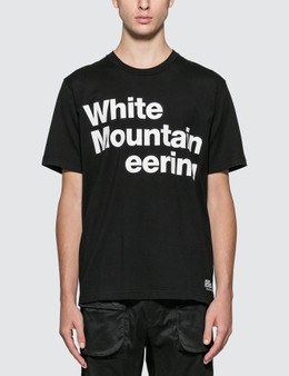 White Mountaineering Printed Logo T-shirt