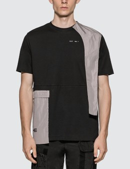 Heliot Emil Tech Panels T-Shirt