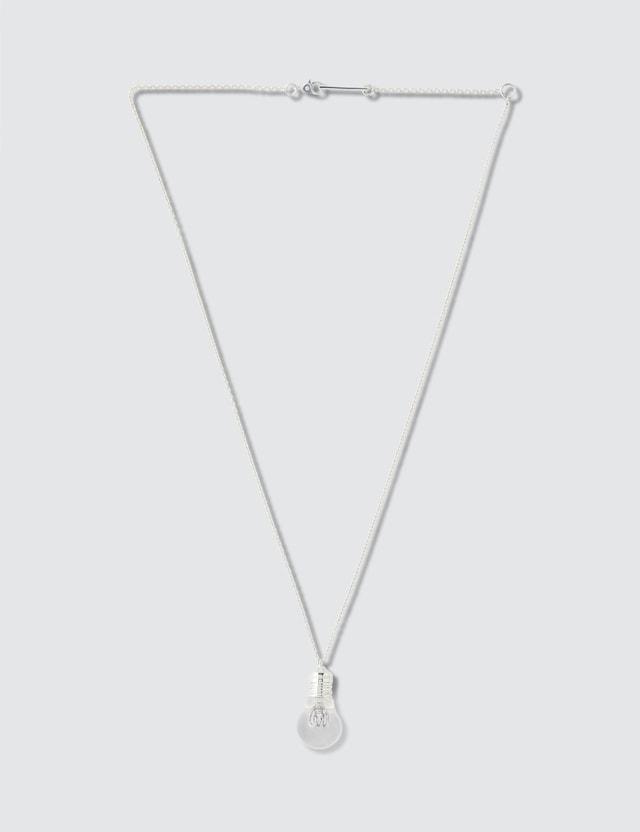 Ambush Light Bulb Charm Necklace
