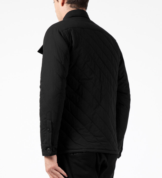 Magic Stick Black Slash Quilted BDU Jacket