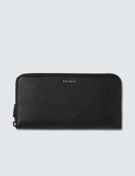 프라다 Prada Travel Zip Wallet