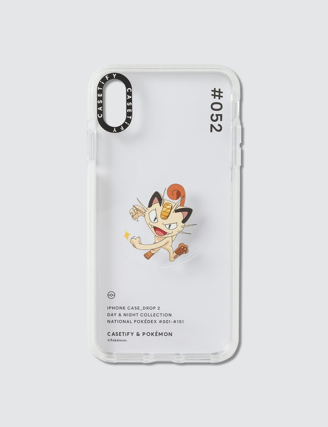 Casetify Meowth 052 Pokédex Day Iphone XS Max Case