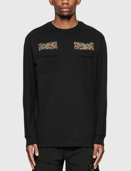 Maharishi Liberty Dragon Long Sleeve T-Shirt