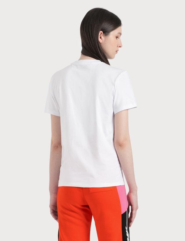 MSGM Box Logo Print T-Shirt