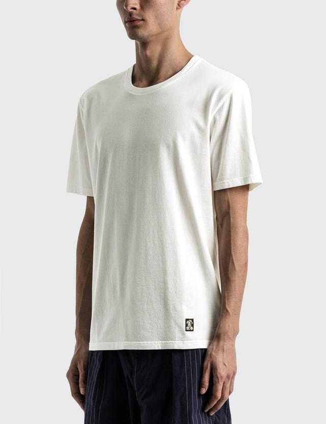 Wacko Maria Standard Crew Neck T-shirt ( Type-1 ) White Men