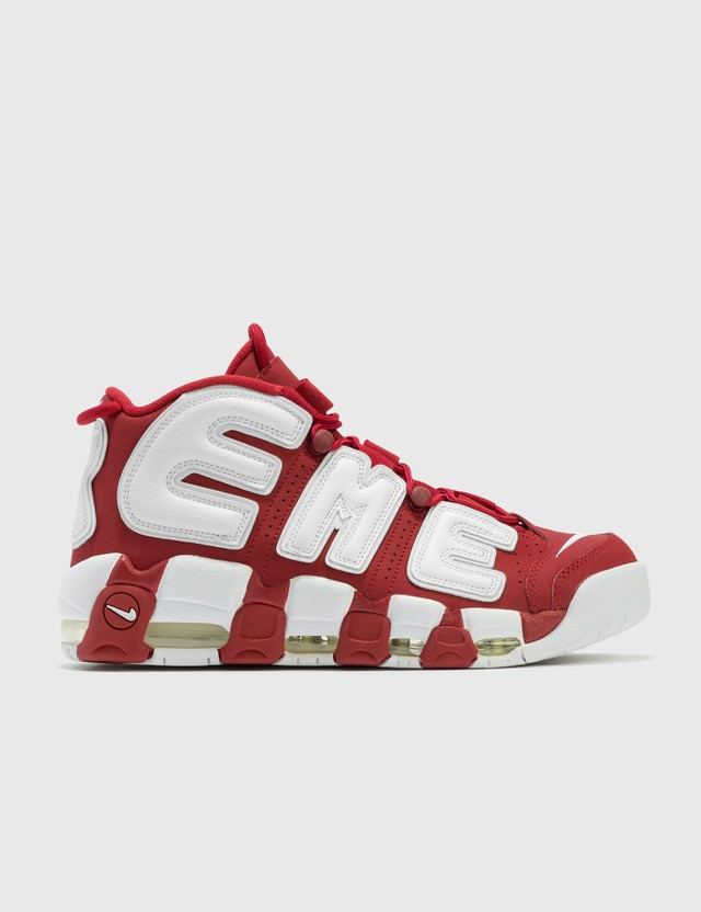 Nike Supreme X Nike Air More Uptempo Red Archives