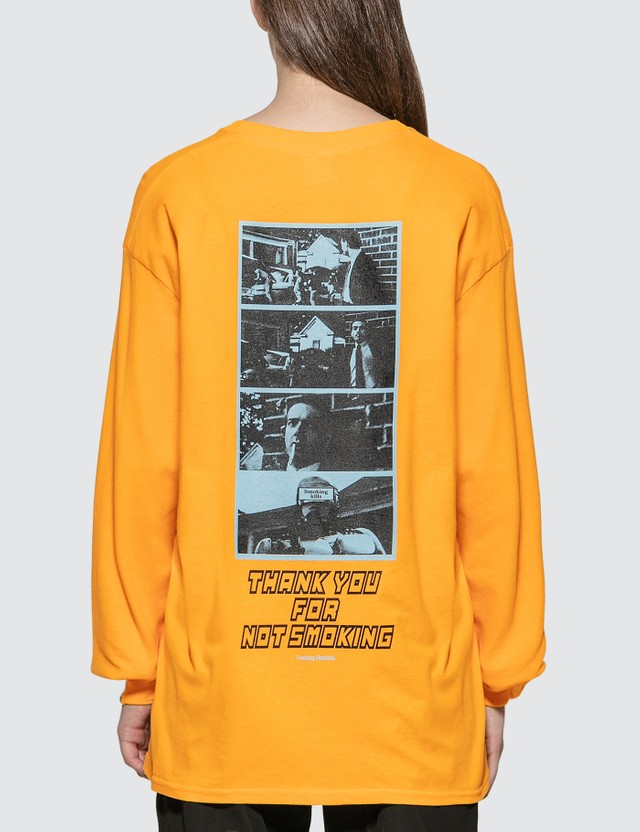 #FR2 Thank You For Not Smoking Long Sleeve T-shirt