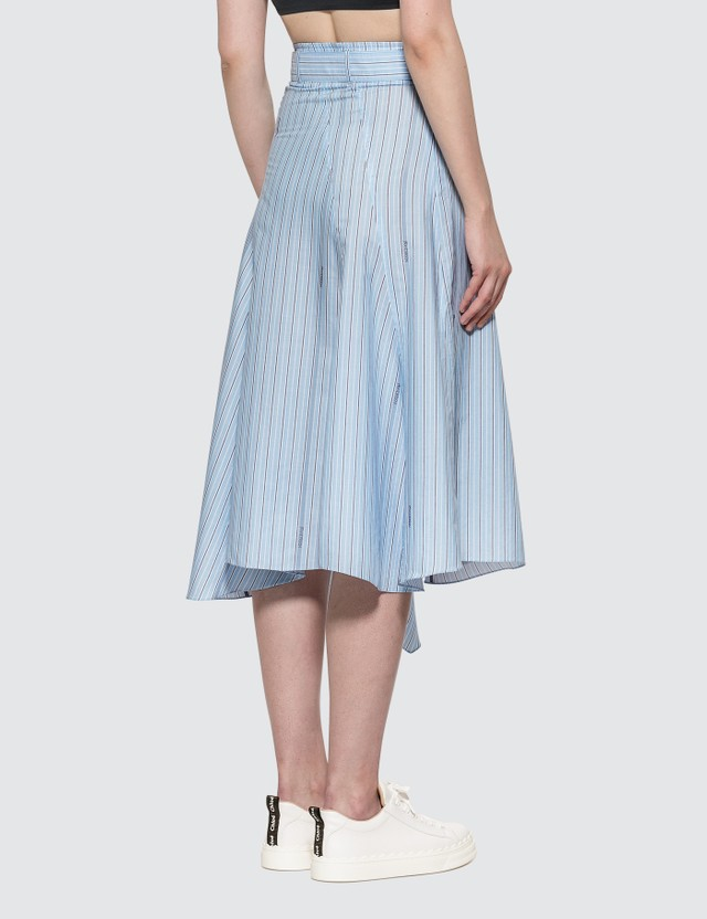 JW Anderson Asymmetric Belted Panelled Skirt