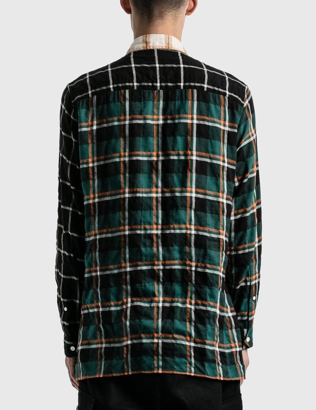 Loewe Check Overshirt Multicolor Men