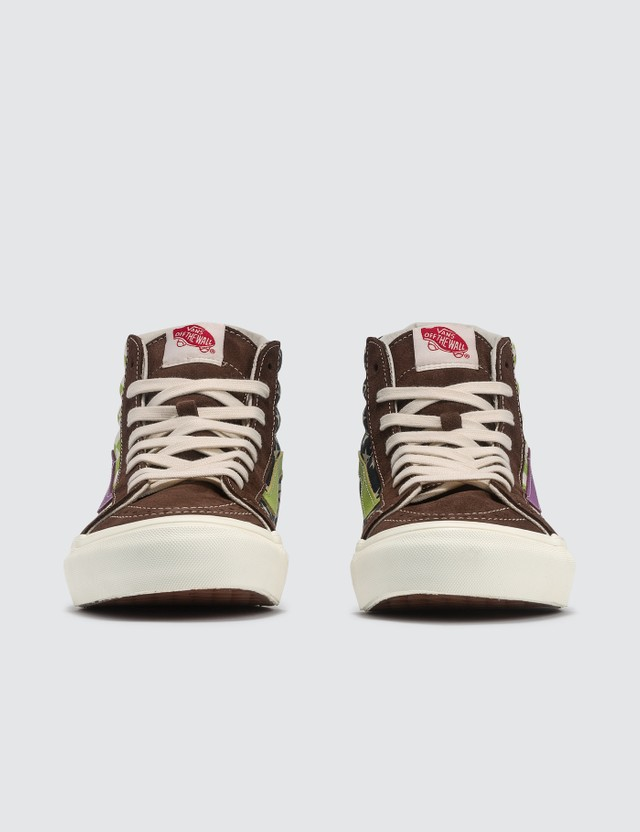 Vans OG SK8-Hi LX (suede/canvas) Potting Soil/lime Green Men