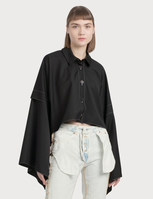 Loewe Shirt Jacket Black Women