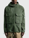 Reese Cooper Brushed Cotton Canvas Anorak Picture