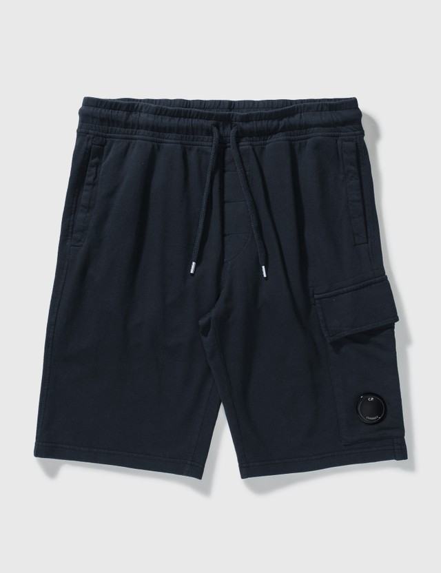 CP Company Lens Pocket Sweatshorts Total Eclipse Men