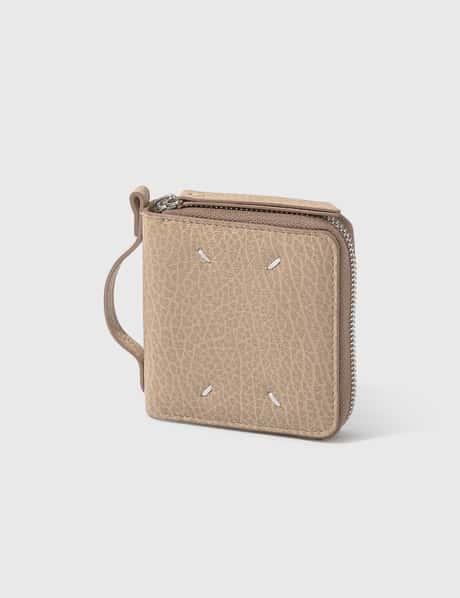 메종 마르지엘라 Maison Margiela Small Zip Wallet With Holder