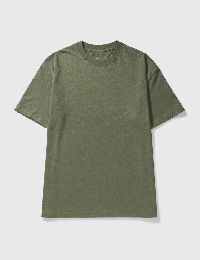 Grocery TE-001 Invoice T-shirt Olive Men