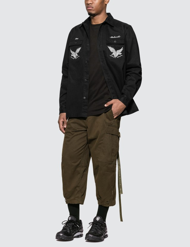 Maharishi Drone Eagle Organic Tour Shirt =e34 Men