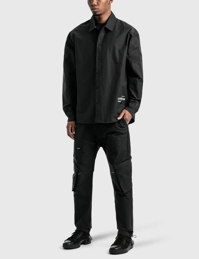 Tobias Birk Nielsen ISO Poetism Overshirt Black Men