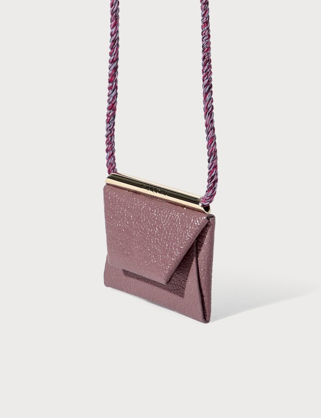 Lanvin Envelope Necklace