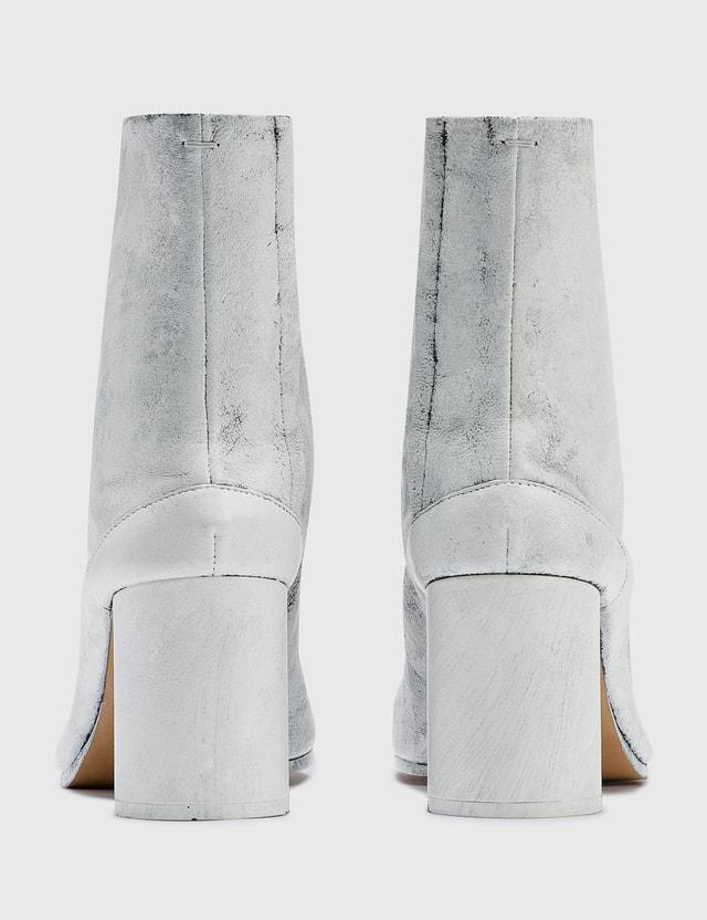 Maison Margiela Tabi Bianchetto Boots Black/white Women