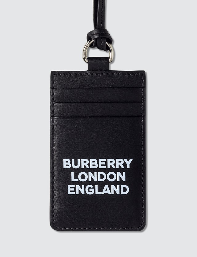Burberry Logo Card Holder with Chain
