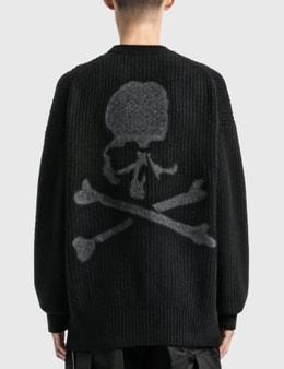 Mastermind World Cashmere Needle Punch Crewneck Sweater