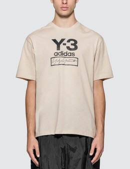 Y-3 Stacked Logo T-Shirt