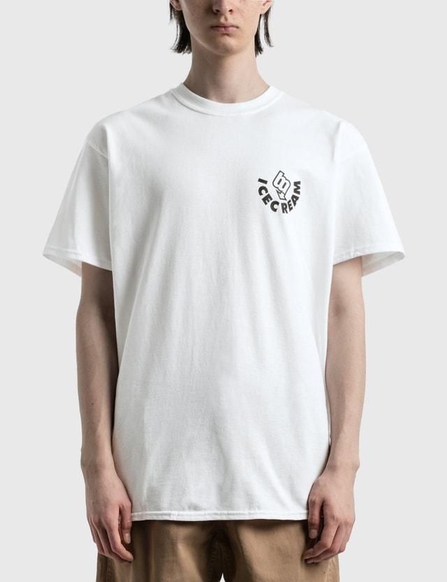 Icecream Ice Cream × Brooklyn MACHINE WORKS T-shirt White Men