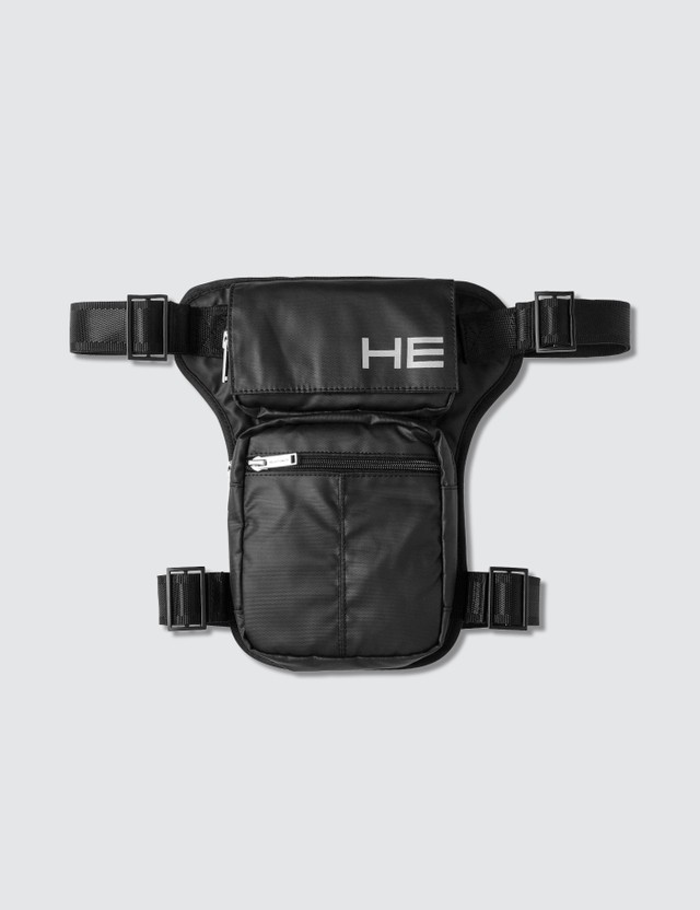 Heliot Emil Logo Print Bag