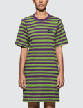 Stussy Murrat Stripped T Shirt Dress Picture