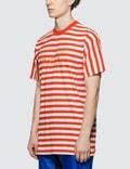 Martine Rose Oversized Stripe S/S T-Shirt