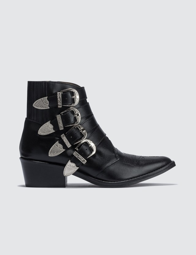 Toga Pulla Buckle Ankle Boots